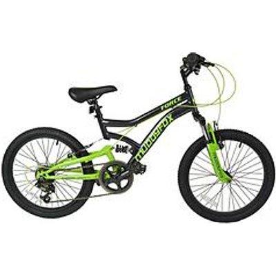 Muddyfox Force Dual Suspension Boys Mountain Bike 20 Inch Wheel