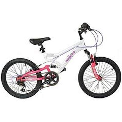 Muddyfox Energy Dual Suspension Girls Mountain Bike 20 Inch Wheel