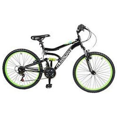 Muddyfox Delta Dual Suspension Boys Mountain Bike 24 Inch Wheel