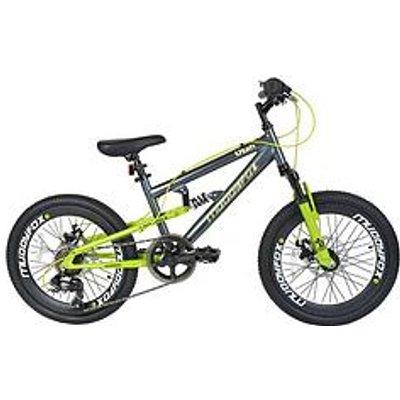 Muddyfox Utah Dual Suspension Boys Mountain Bike 20 Inch Wheel