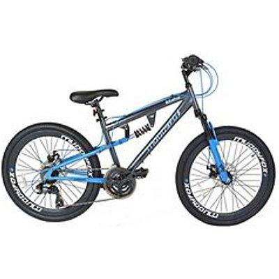 Muddyfox Idaho Dual Suspension Boys Mountain Bike 24 Inch Wheel