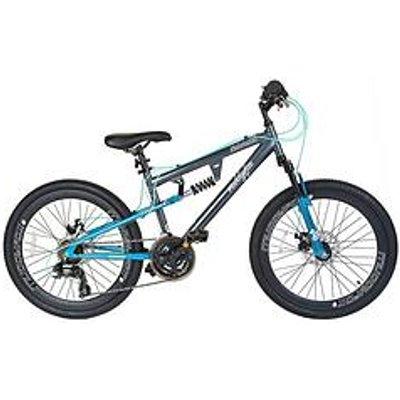 Muddyfox Nebraska Dual Suspension Girls Mountain Bike 24 Inch Wheel