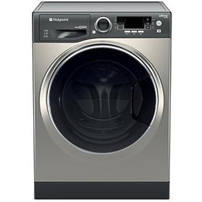 Hotpoint Ultima S-Line Rd966Jgd 9Kg Wash, 6Kg Dry, 1600 Spin Washer Dryer - Graphite