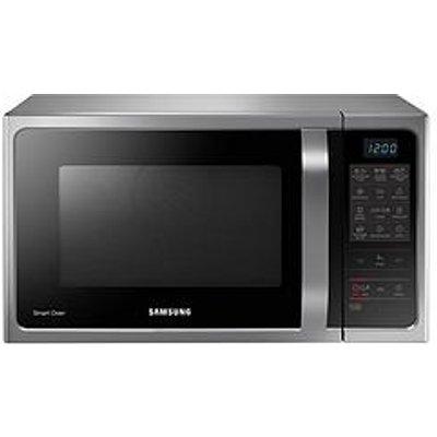 Samsung Mc28H5013As/Eu 28-Litre Convection Microwave Oven With Ceramic Enamel Interior - Silver