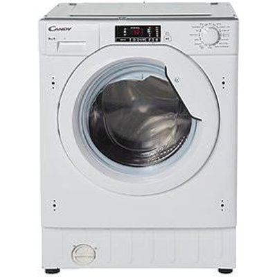 Candy Cbwm816S 8Kg Load 1600 Spin Integrated Washing Machine  - Washing Machine Only