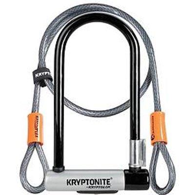 Kryptonite Kryptolok Standard Bike U-Lock With 4 Foot Kryptoflex Cable
