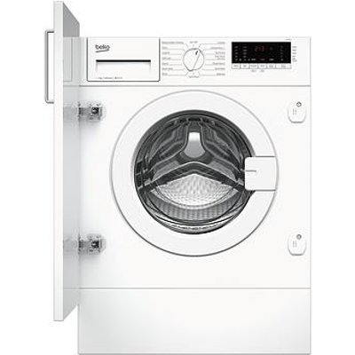 Beko Wiy74545 7Kg Load, 1400 Spin Built-In Washing Machine With Connection - White