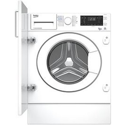 Beko Wdiy854310F 8Kg Wash, 5Kg Dry, 1400 Spin Integrated Washer Dryer - White
