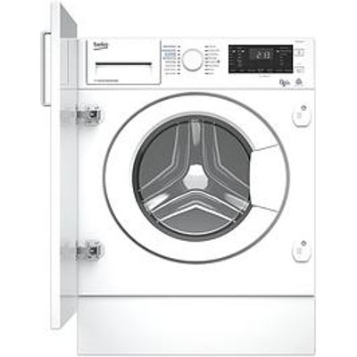 Beko Wdiy854310F 8Kg Wash, 5Kg Dry, 1400 Spin, Integrated Washer Dryer With Connection - White