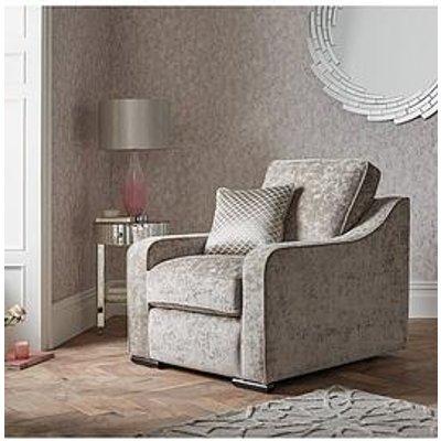 Michelle Keegan Home Mirage Fabric Armchair