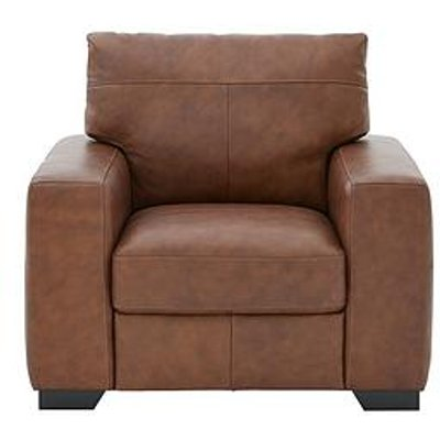 Hampshire Italian Leather Armchair