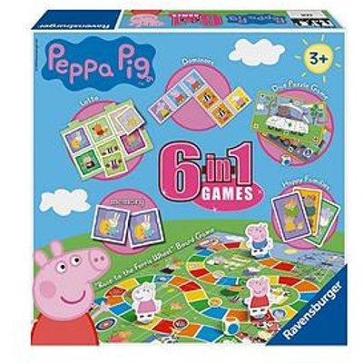 Ravensburger Peppa Pig 6 In 1 Games Box