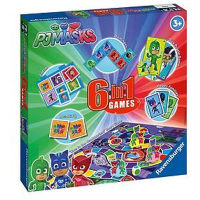Ravensburger Ravenburger Pj Masks 6 In 1 Games Box