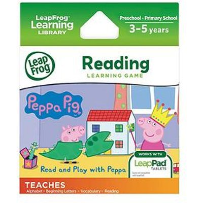 Leapfrog Leappad Learning Game &Ndash; Read And Play With Peppa Pig