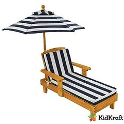 Kidkraft Outdoor Chaise Lounger With Umbrella