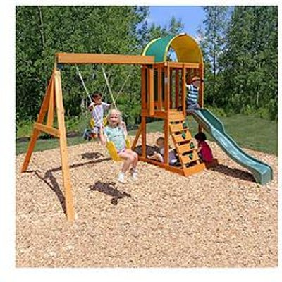 Kidkraft Ainsley Outdoor Wooden Playset