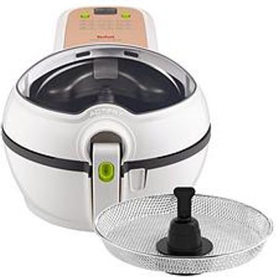 Tefal Actifry Original Plus Air Fryer With Snacking Tray Gh847040 - White / 1.2Kg