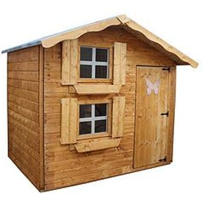 Mercia 7 X 5Ft Snowdrop Cottage Double Story Wooden Playhouse
