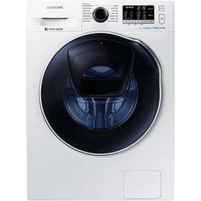 Samsung Wd80K5410Ow/Eu 8Kg Wash, 6Kg Dry, 1400 Spin Addwash&Trade; Washer Dryer With Ecobubble&Trade; Technology - White