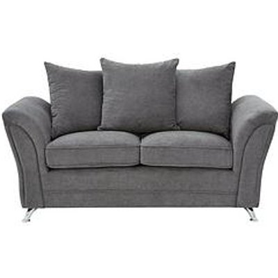 Dury Fabric 2 Seater Scatter Back Sofa