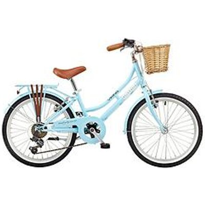 Viking Belgravia 11 Inch Frame 20 Inch Wheel 6 Speed Traditional Bike Blue