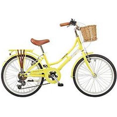 Viking Viking Belgravia 11&Quot; Frame 20&Quot; Wheel 6 Speed Traditional Bike Yellow