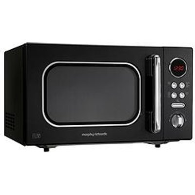 Morphy Richards 23-Litre, 800-Watt Microwave - Black