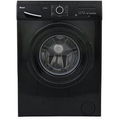 Swan Sw15840B 9Kg Load, 1200 Spin Washing Machine - Black