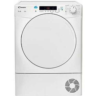 Candy Csc9Df 9Kg Load Condenser Sensor Tumble Dryer With Smart Touch - White