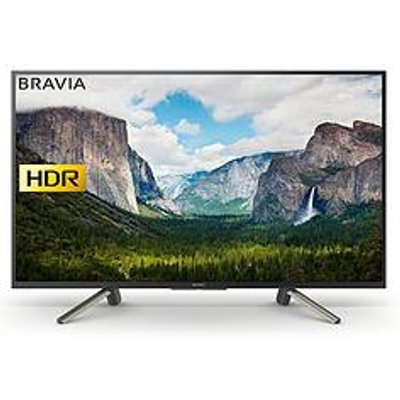 Sony Bravia Kdl43Wf663, 43 Inch, Full Hd Hdr, Freeview Play, Smart Tv - Black
