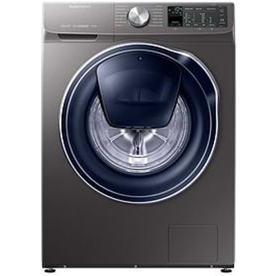 Samsung Ww90M645Opo/Eu 9Kg Load, 1400 Spin Quickdrive&Trade; Washing Machine With Addwash&Trade; - Grey/Graphite