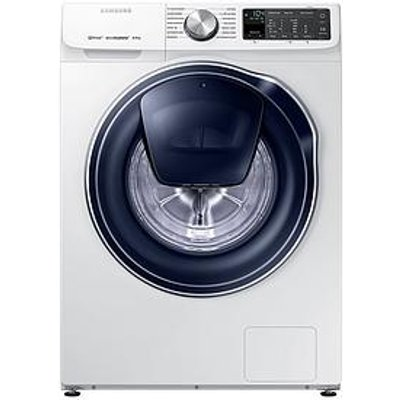Samsung Ww80M645Opm/Eu 8Kg Load, 1400 Spin Quickdrive&Trade; Washing Machine With Addwash&Trade; - White
