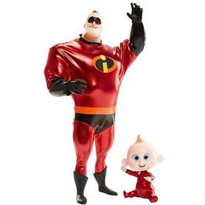 Disney The Incredibles Incredibles 2 11Inch Mr. Incredible And Jack Jack Action Doll