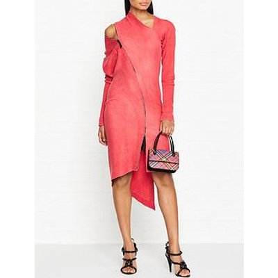 Vivienne Westwood Anglomania Zipper Timans Dress - Red