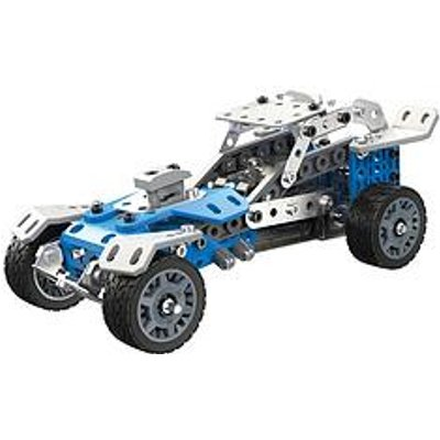 Meccano 10 Model Set &Ndash; Rally Racer With Self-Contained Motor