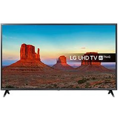 Lg 55Uk6300Plb 55 Inch Ultra Hd, 4K Hdr, Freeview Play, Smart, Led Tv - Black