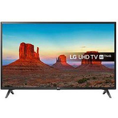 Lg 43Uk6300Plb 43 Inch Ultra Hd, 4K Hdr, Freeview Play, Smart, Led Tv - Black