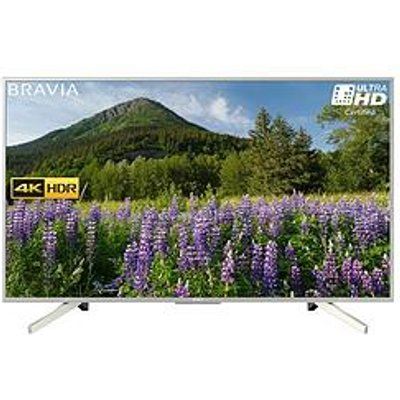 Sony Kd55Xf7073 55 Inch, 4K Hdr Ultra Hd, Smart Tv With Freeview Play - Silver