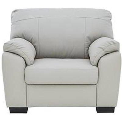 Merkle Leather/Faux Leather Armchair