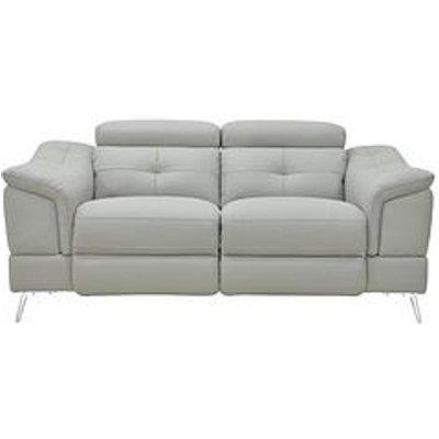 Athena Premium Leather 2 Seater Power Recliner Sofa