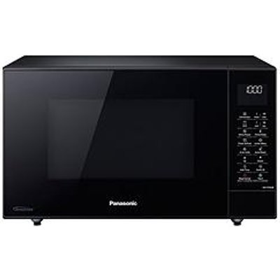 Panasonic 27-Litre Slimline Microwave, Oven &Amp; Grill With Inverter Technology Nn-Ct56Jbbpq
