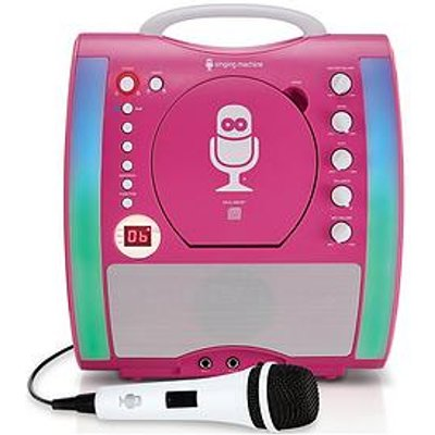 The Singing Machine Sml363 Glow Karaoke Machine &Ndash; Pink