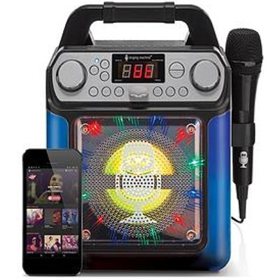 Groove Mini - Disco Light Mp3+G Karaoke System With Voice Changer Effects &Ndash; Black
