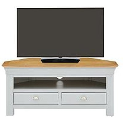 Seattle Ready Assembled Corner Tv Unit - Fits Up To 46 Inch Tv