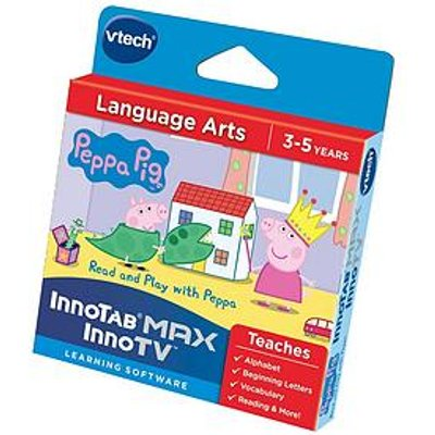 Vtech Innotab Software &Ndash; Language Arts: Read And Play With Peppa Pig