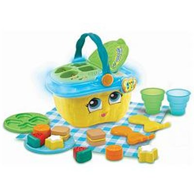 Leapfrog Shapes &Amp; Sharing Picnic Basket - Yellow