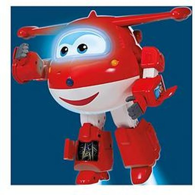 Super Wings Robot Ready Talking Jett
