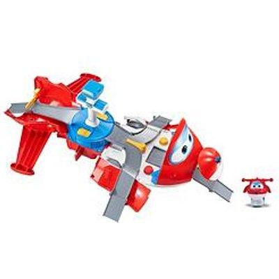 Super Wings Jett'S Take Off Tower - Hero Playset