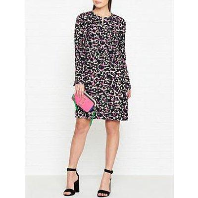 Hugo Kirane Leopard Print Dress - Pink