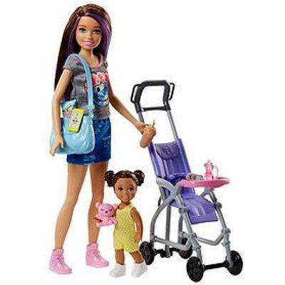 Barbie Skipper Babysitter Stroller Playset